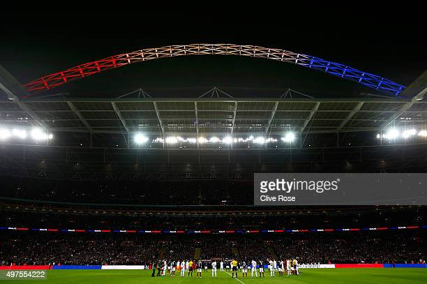 A general view during the International Friendly match between England and France at Wembley Stadium on November 17 2015 in London England