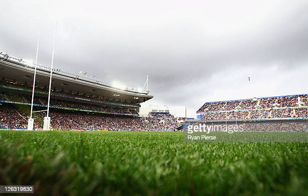 A general view during the IRB 2011 Rugby World Cup Pool D match between Fiji and Samoa at Eden Park on September 25 2011 in Auckland New Zealand