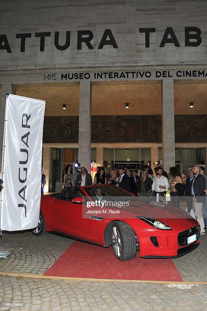 General view during the Italian premiere of the short film 'Desire' at ex Manifatture Tabacchi on May 9, 2013 in Milan, Italy.