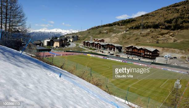 General view during the Italy Training Session on May 24 2010 in Sestriere near Turin Italy