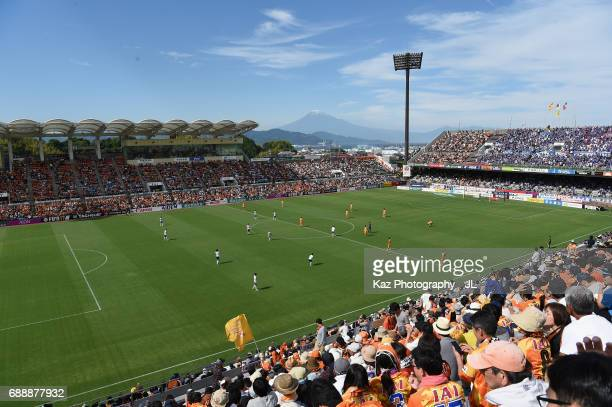 A general view during the JLeague J1 match between Shimizu SPulse and Yokohama FMarinos at IAI Stadium Nihondaira on May 27 2017 in Shizuoka Japan