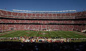 A general view during the Kansas City Chiefs game against the San Francisco 49ers at Levi's Stadium on October 5 2014 in Santa Clara California