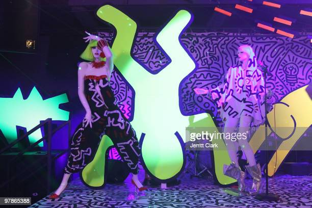 General view during the Keith Haring By House Of Field / Paradise Garage Collection Exhibition presented by Patricia Field during MercedesBenz...