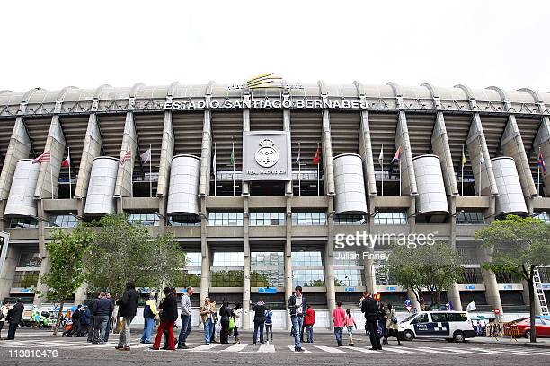 A general view during the La Liga match between Real Madrid and Real Zaragoza at Estadio Santiago Bernabeu on April 30 2011 in Madrid Spain