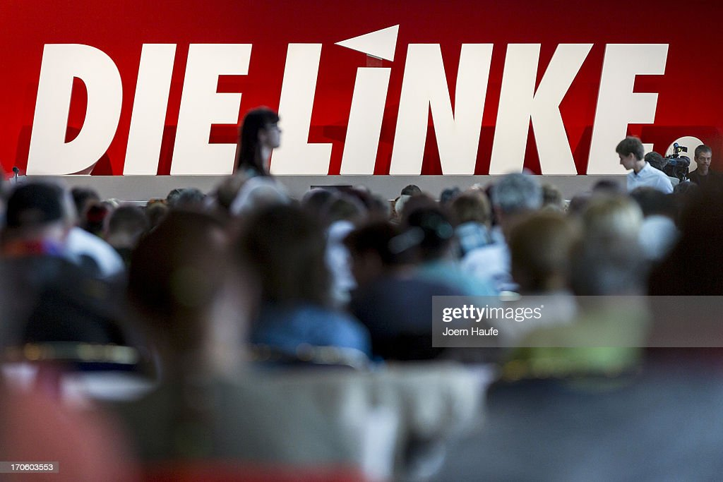 A general view during the left-wing Die Linke political party federal convention on June 15, 2013 in Dresden, Germany. Die Linke, Germany's main left-wing political party, are meeting to decide on their policy program for German federal elections scheduled for September.