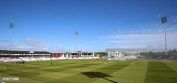 A general view during the LV County Championship Division One match between Durham CCC and Somerset CCC at The Emirates Durham ICG on June 07 2015 in...