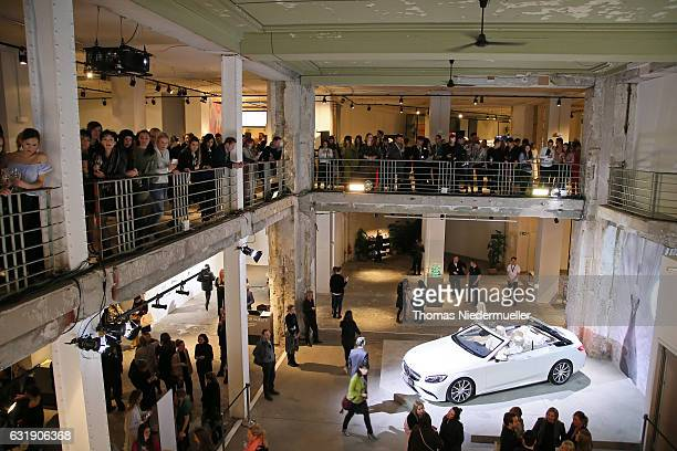 A general view during the MercedesBenz Fashion Week Berlin A/W 2017 at Kaufhaus Jandorf on January 17 2017 in Berlin Germany