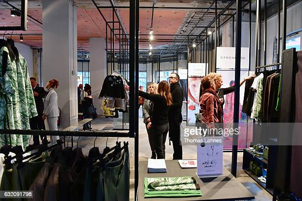 General view during the MercedesBenz Fashion Week Berlin A/W 2017 at Kaufhaus Jandorf on January 19 2017 in Berlin Germany