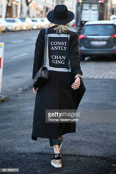 General view during the MercedesBenz Fashion Week Berlin A/W 2017 on January 17 2017 in Berlin Germany