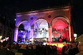 A general view during the MercedesBenz reception at 'Klassik am Odeonsplatz' 2016 on July 17 2016 in Munich Germany