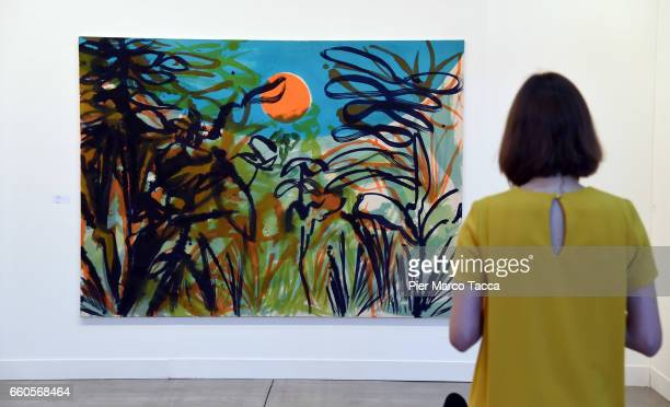 A general view during the Miart Fair 2017 at Fiera Milano City on March 30 2017 in Milan Italy