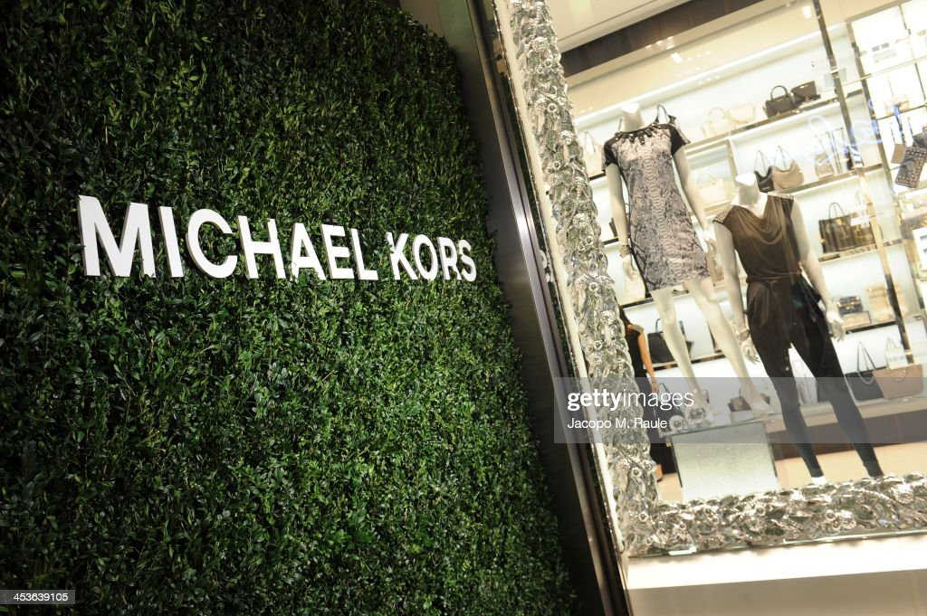 General view during the Michael Kors To celebrate Milano opening on December 4, 2013 in Milan, Italy.