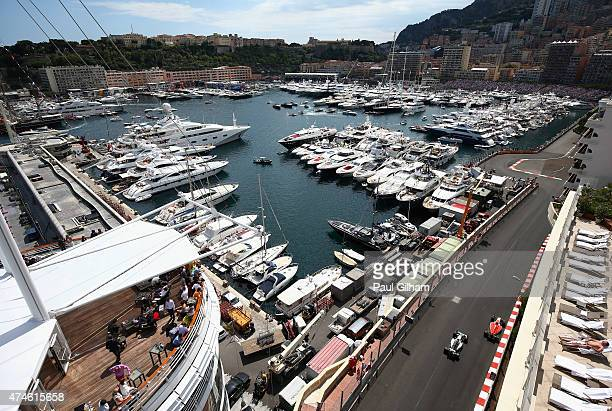 General view during the Monaco Formula One Grand Prix at Circuit de Monaco on May 24 2015 in MonteCarlo Monaco