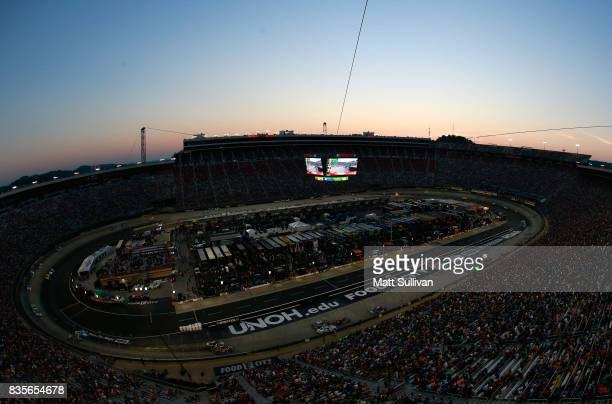 General view during the Monster Energy NASCAR Cup Series Bass Pro Shops NRA Night Race at Bristol Motor Speedway on August 19 2017 in Bristol...