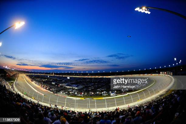 A general view during the NASCAR Sprint Cup Series SHOWTIME Southern 500 at Darlington Raceway on May 7 2011 in Darlington South Carolina