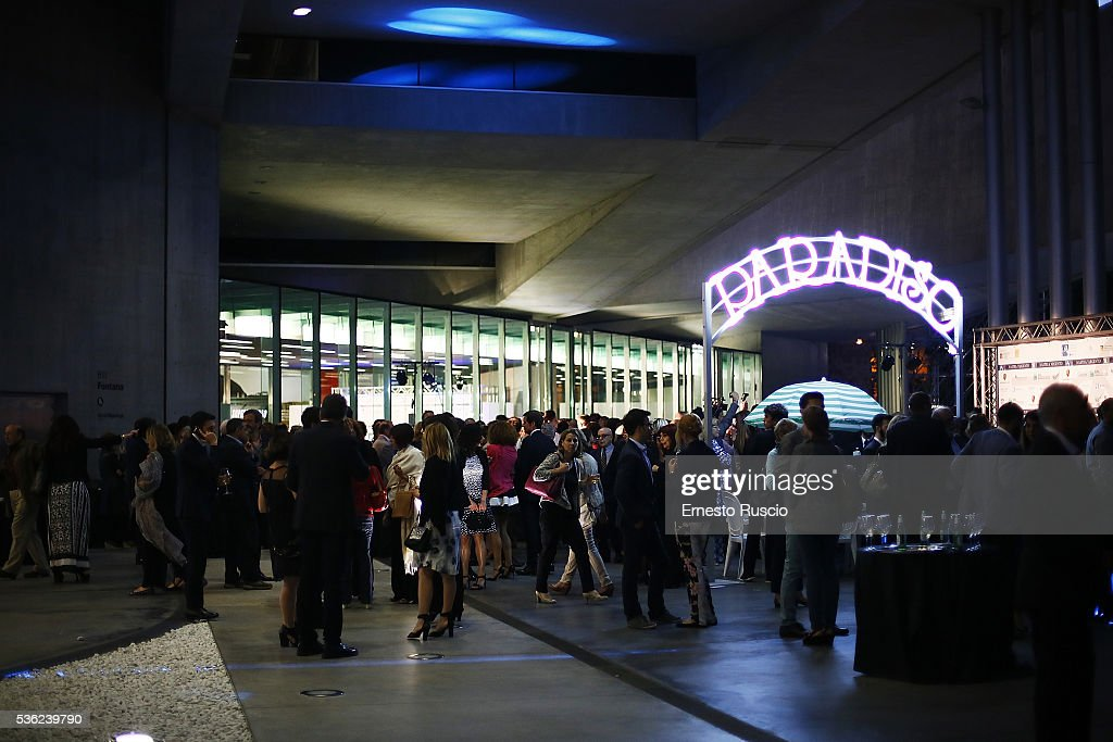 General view during the Nastri D'Argento 2016 Award Nominations at Maxxi Museum on May 31, 2016 in Rome, Italy.