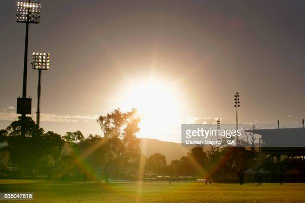 A general view during the National Indigenous Cricket Championships Final between New South Wales and Victoria on February 13 2017 in Alice Springs...