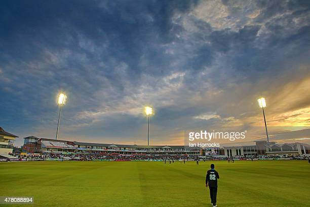 General view during the NatWest T20 Blast match between Durham Jets and Worcestershire Rapids at The Emirates Durham ICG on June 12 2015 in Chester...