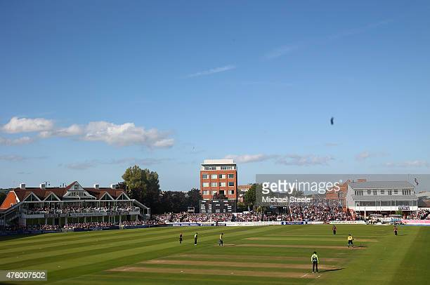 General view during the NatWest T20 Blast match between Somerset and Hampshire at The County Ground on June 5 2015 in Taunton England
