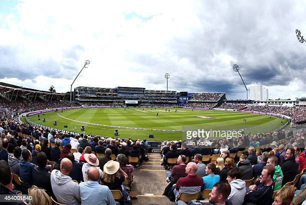 General view during the Natwest T20 Blast Semi Final match between Birmingham Bears and Surrey at Edgbaston on August 23 2014 in Birmingham England