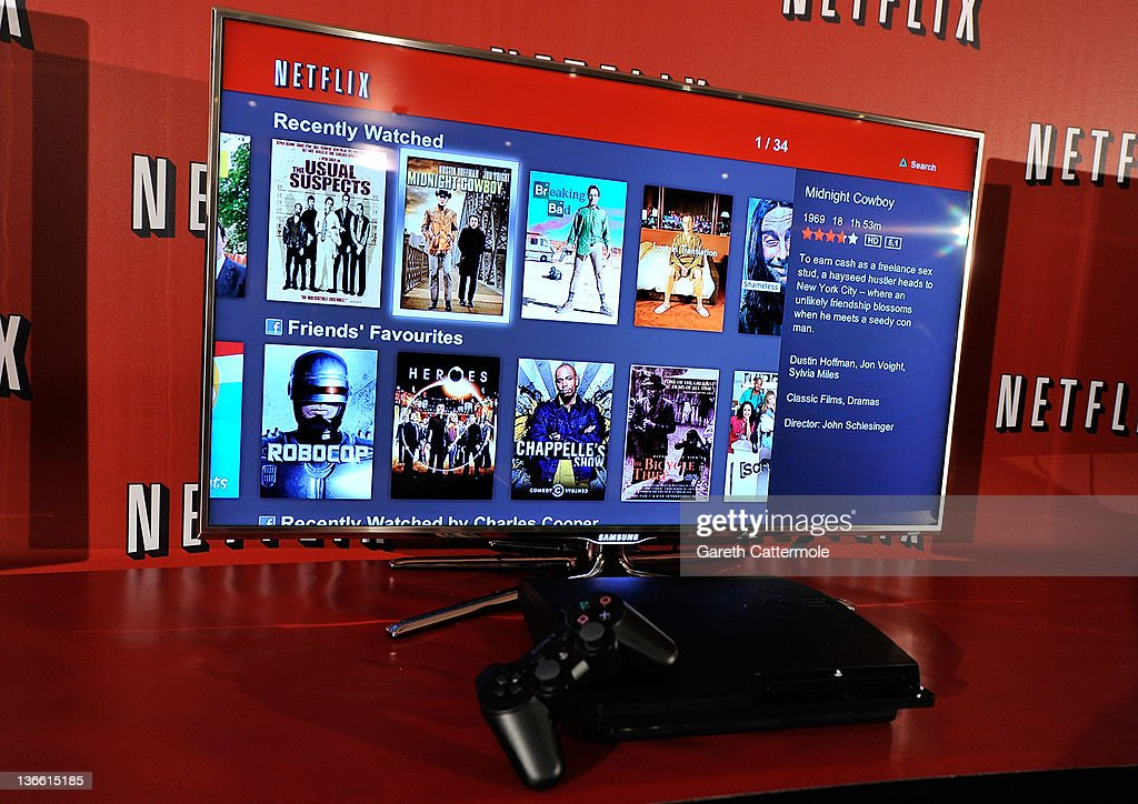 A general view during the Netflix UK launch in London, England on January 9, 2012. Netflix the leading global internet subscription service for films and TV programmes, launches today in the United Kingdom and Ireland, offering instant and unlimited access to a broad range of entertainment for the low monthly price of £5.99 in the UK and €6.99 in Ireland.