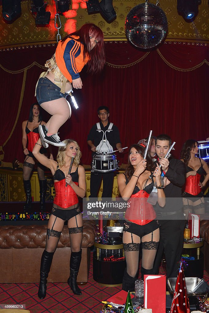 A general view during the New Year's Eve 2014 celebration at Beacher's Madhouse Las Vegas at the MGM Grand Hotel/Casino on December 31, 2013 in Las Vegas, Nevada.