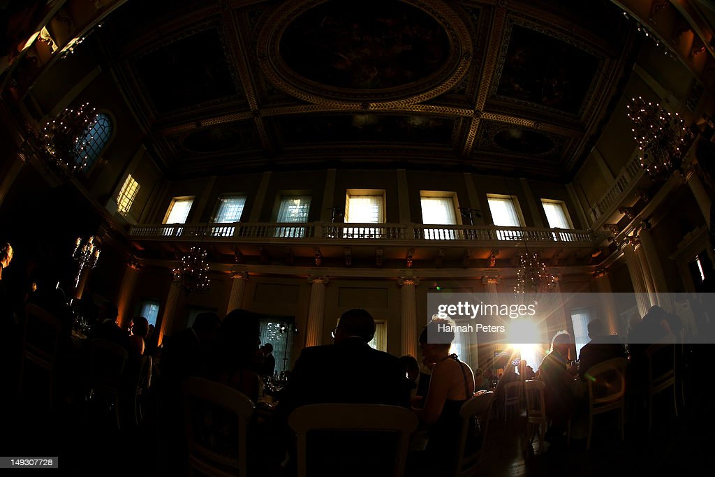 A general view during the NZOC Governor General's Gala Dinner ahead of the London 2012 Olympic Games at Banqueting House, Whitehall on July 26, 2012 in London, England.