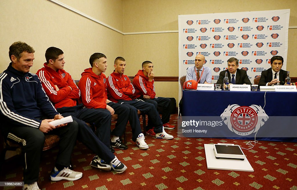 A general view during the official weigh in ahead of British Lionhearts v Italia Thunder in the World Series of Boxing on November 22, 2012 in Newport, Wales.