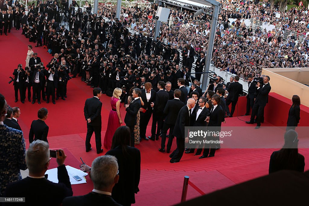 A general view during the 'On The Road' Premiere during the 65th Annual Cannes Film Festival at Palais des Festivals on May 23, 2012 in Cannes, France.