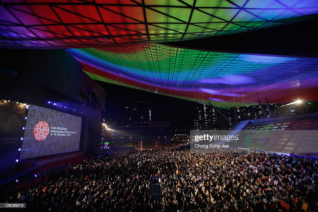 A general view during the opening ceremony of the 16th Busan International Film Festival (BIFF) at the Busan Cinema Center on October 6, 2011 in Busan, South Korea. The biggest film festival in Asia showcases 307 films from 70 countries and runs from October 6-14.