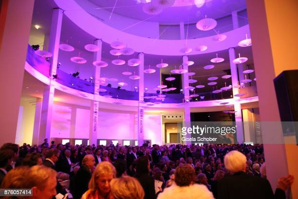 A general view during the PIN Party 'Let's party 4 art' at Pinakothek der Moderne on November 18 2017 in Munich Germany