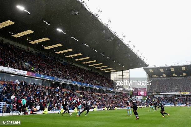 A general view during the Premier League match between Burnley and Crystal Palace at Turf Moor on September 10 2017 in Burnley England