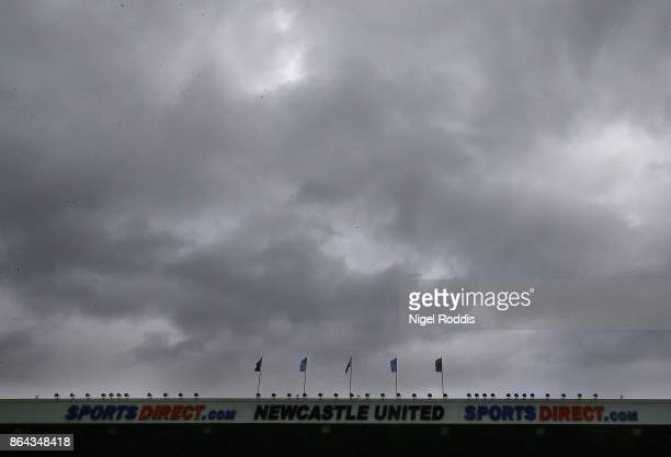 A general view during the Premier League match between Newcastle United and Crystal Palace at St James Park on October 21 2017 in Newcastle upon Tyne...