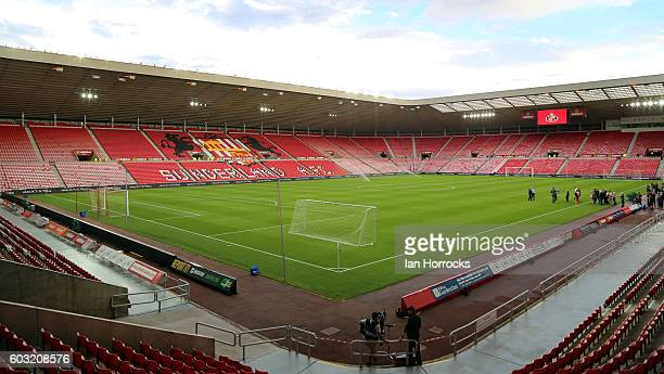 A general view during the Premier League match between Sunderland and Everton at Stadium of Light on September 12 2016 in Sunderland England