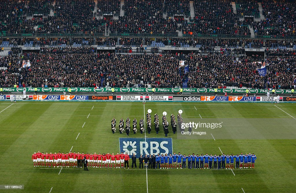 A general view during the RBS Six Nations match between France and Wales at Stade de France on February 9, 2013 in Paris, France.