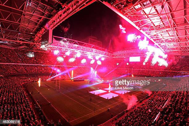 A general view during the RBS Six Nations match between Wales and England at the Millennium Stadium on February 6 2015 in Cardiff Wales