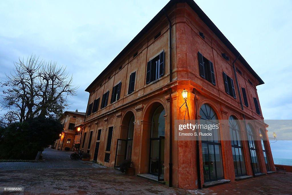 General view during the Roberto Scio' birthday Party at La Posta Vecchia on February 13, 2016 in Paolo Laziale, near Rome, Italy.