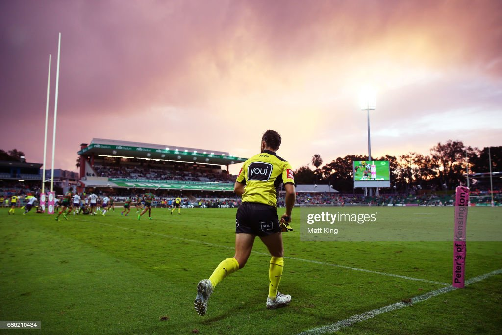 A general view during the round 11 NRL match between the South Sydney Rabbitohs and the Melbourne Storm at nib Stadium on May 21, 2017 in Perth, Australia.