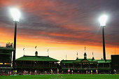 A general view during the round 18 AFL match between the Sydney Swans and the Adelaide Crows at Sydney Cricket Ground on August 1 2015 in Sydney...