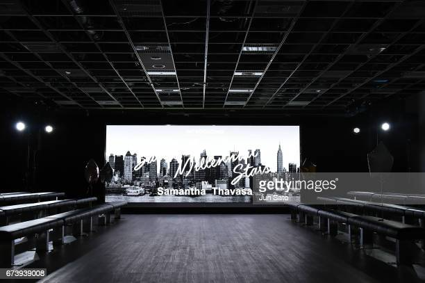 A general view during the Samantha Thavasa Millennial Stars Fashion Event on April 27 2017 in Tokyo Japan