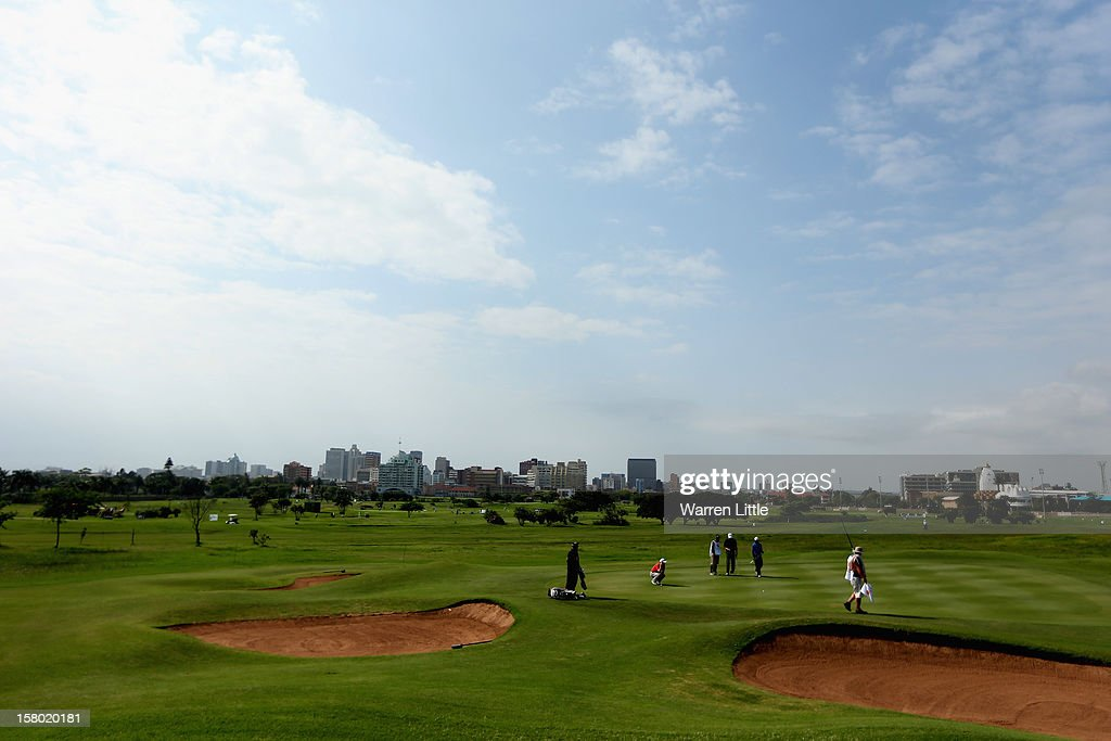 A general view during the second round of The Nelson Mandela Championship presented by ISPS Handa at Royal Durban Golf Club on December 9, 2012 in Durban, South Africa.