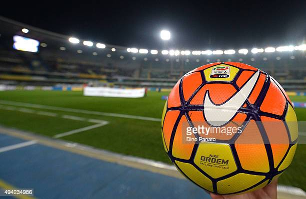 A general view during the Serie A match between AC Chievo Verona and SSC Napoli at Stadio Marc'Antonio Bentegodi on October 25 2015 in Verona Italy
