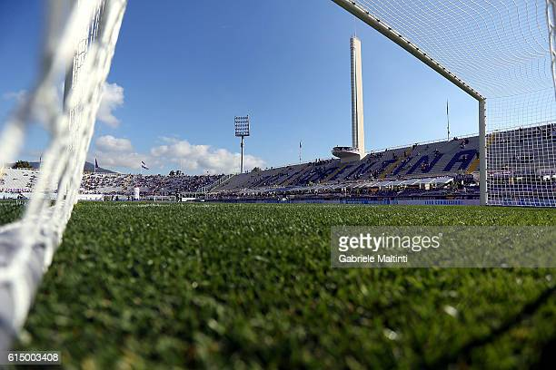 General view during the Serie A match between ACF Fiorentina and Atalanta BC at Stadio Artemio Franchi on October 16 2016 in Florence Italy