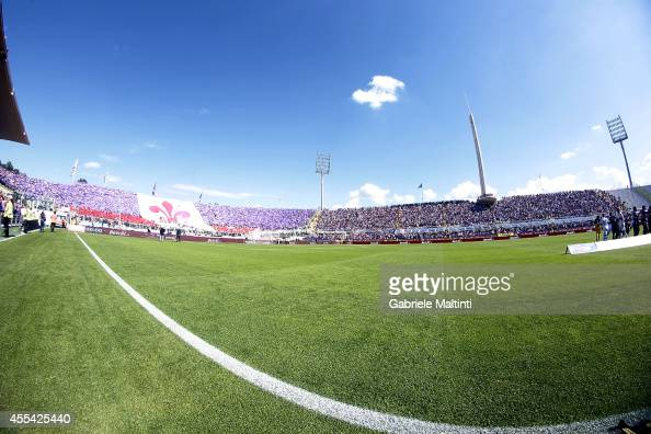 General view during the Serie A match between ACF Fiorentina and Genoa CFC at Stadio Artemio Franchi on September 14 2014 in Florence Italy