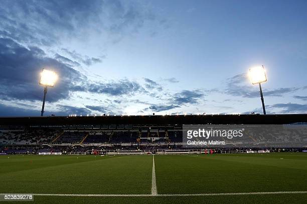 A general view during the Serie A match between ACF Fiorentina and Juventus FC at Stadio Artemio Franchi on April 24 2016 in Florence Italy