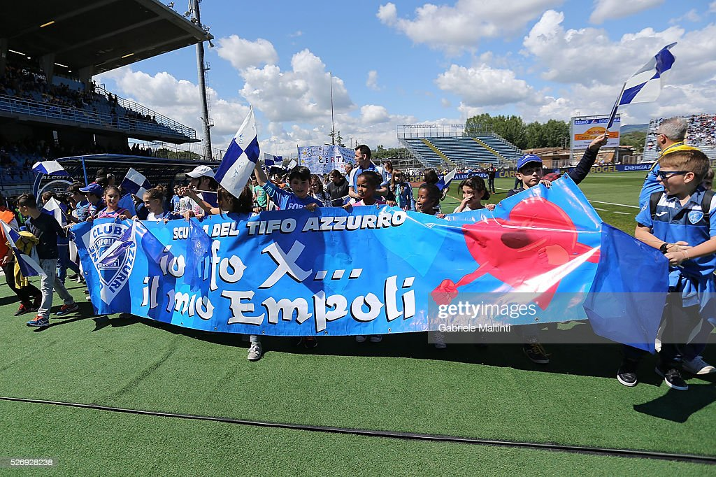 General view during the Serie A match between Empoli FC and Bologna FC at Stadio Carlo Castellani on May 1, 2016 in Empoli, Italy.