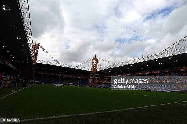 General view during the Serie A match between Genoa CFC and Udinese Calcio at Stadio Luigi Ferraris on November 6 2016 in Genoa Italy