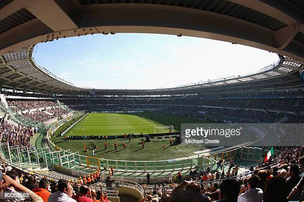 General view during the Serie A match between Juventus and Fiorentina at the Stadio Olimpico on March 2 2008 in TurinItaly