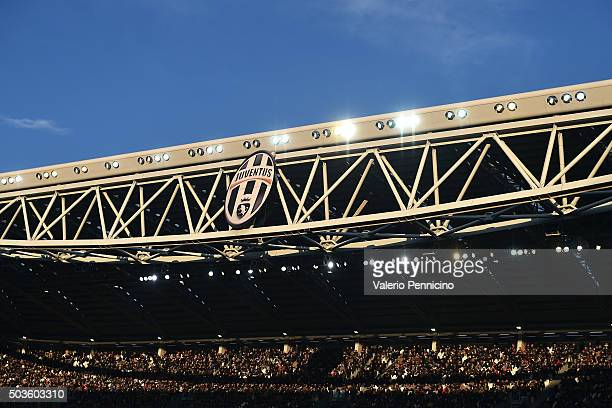 A general view during the Serie A match between Juventus FC and Hellas Verona FC at Juventus Arena on January 6 2016 in Turin Italy