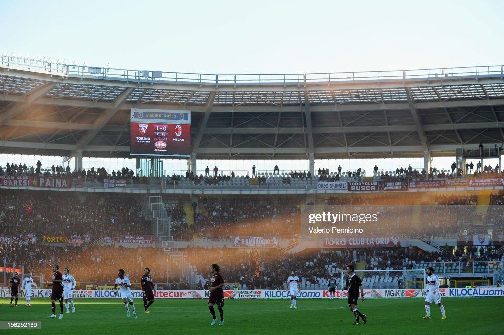 A general view during the Serie A match between Torino FC and AC Milan at Stadio Olimpico di Torino on December 9, 2012 in Turin, Italy.